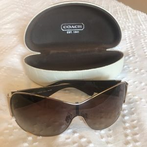 EUC Coach Sunglasses - Kendra S5001 Brown